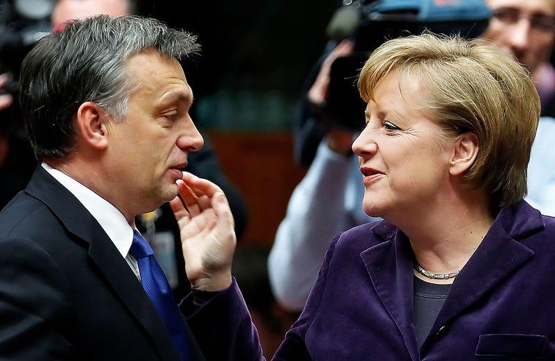 Illustration for article titled Tévhitek Angela Merkelről