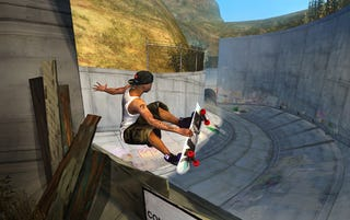 Illustration for article titled Tony Hawk Ride Preview: Feet On, Most of The Time