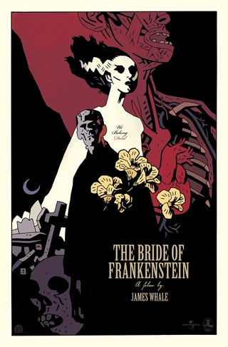 Illustration for article titled This Is the Greatest Bride of Frankenstein Poster Ever