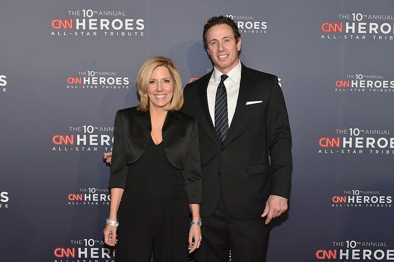 Alisyn Camerota and Chris Cuomo (Mike Coppola/Getty Images for Turner)