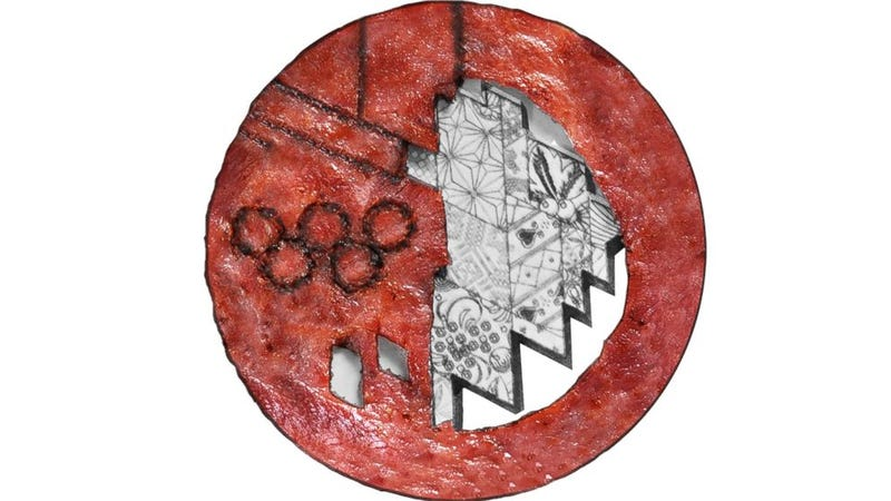 Illustration for article titled Sage Kotsenburg Finally Gets His Olympic Medal Made Of Bacon