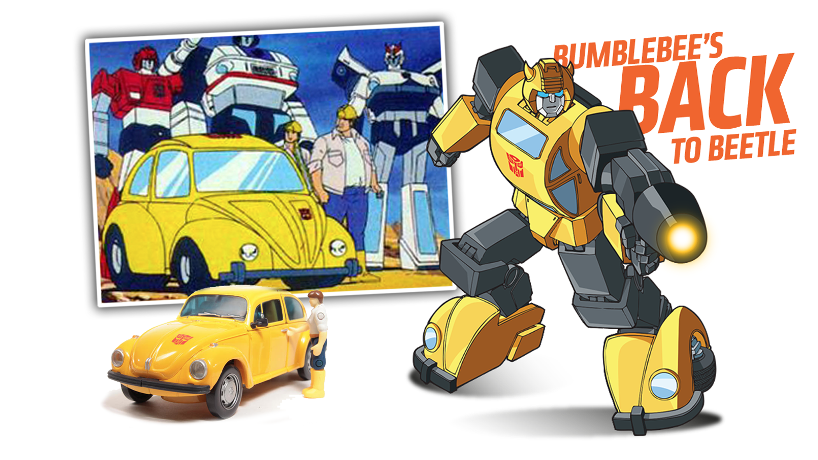 Bumblebee Returns In His Original Volkswagen Beetle Form In The Next Transformers Movie