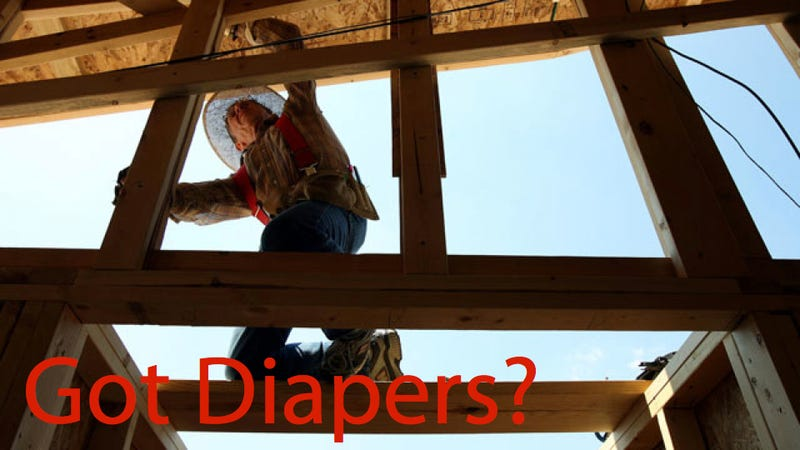 Illustration for article titled Your House Could Be Made Of Recycled Diapers Someday