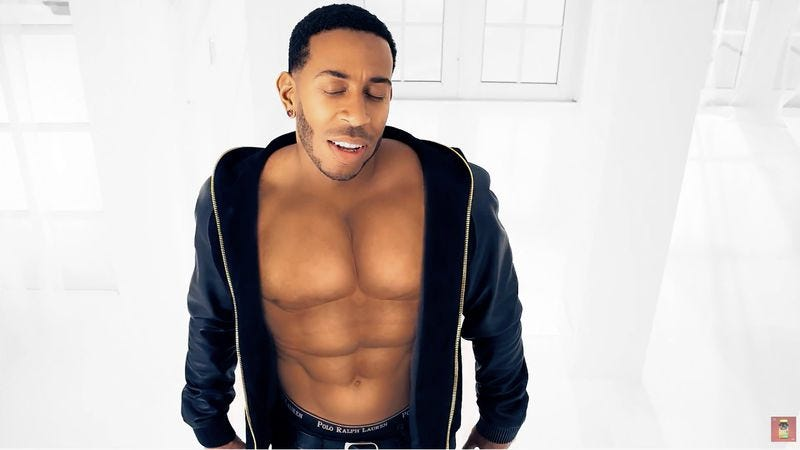 Illustration for article titled Ludacris drops new video and oh god what is going on with his abs