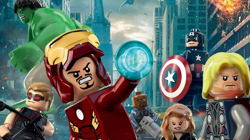 Illustration for article titled Check Out the Official Lego Avengers Movie Poster
