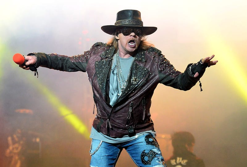 Photo by Getty; you better hope Axl actually shows up
