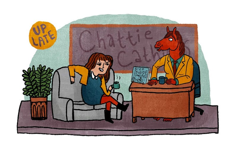 Illustration for article titled Bojack Horseman Designer Lisa Hanawalt Talks to Cartoonist Kate Beaton