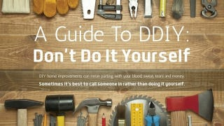 Illustration for article titled This Graphic Warns Of Common Pitfalls that Can Wreck Your DIY Project