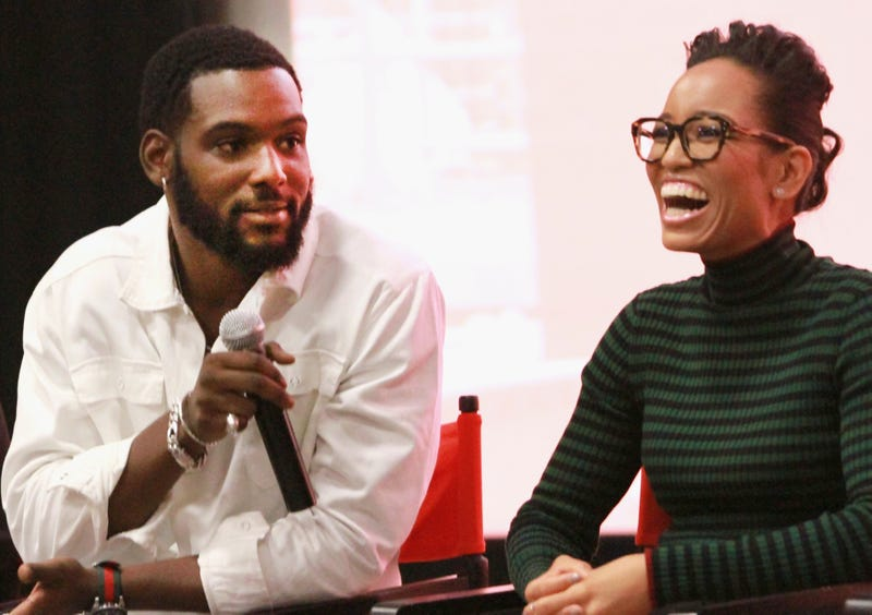 Queen Sugar Cast Panel Discussion with (L-to-R) Kofi Siriboe and Dawn-Lyen Gardner at the 21st Annual Film festival on September 23, 2017 in New York City.