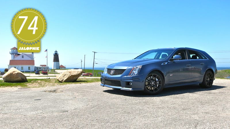 Illustration for article titled 2013 Cadillac CTS-V Wagon: The Jalopnik Review