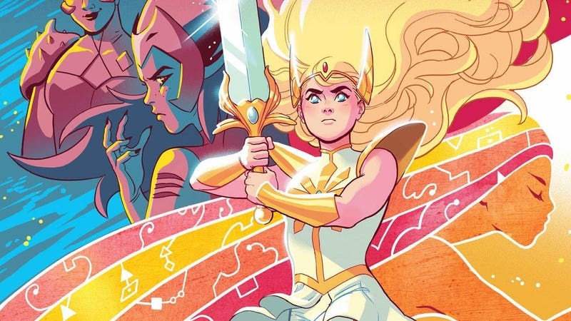 The cover art for She-Ra and the Princesses of Power: Legend of the Fire Princess.