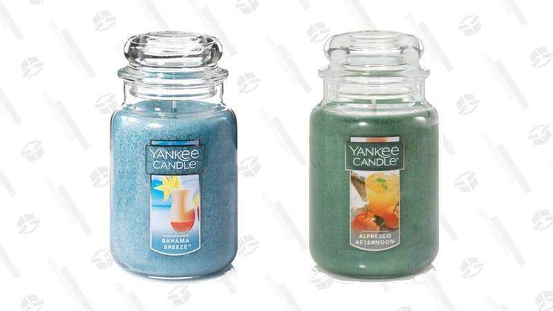 Yankee Candle BOGO Large Jar Candle Sale | Promo Code 1LARGE