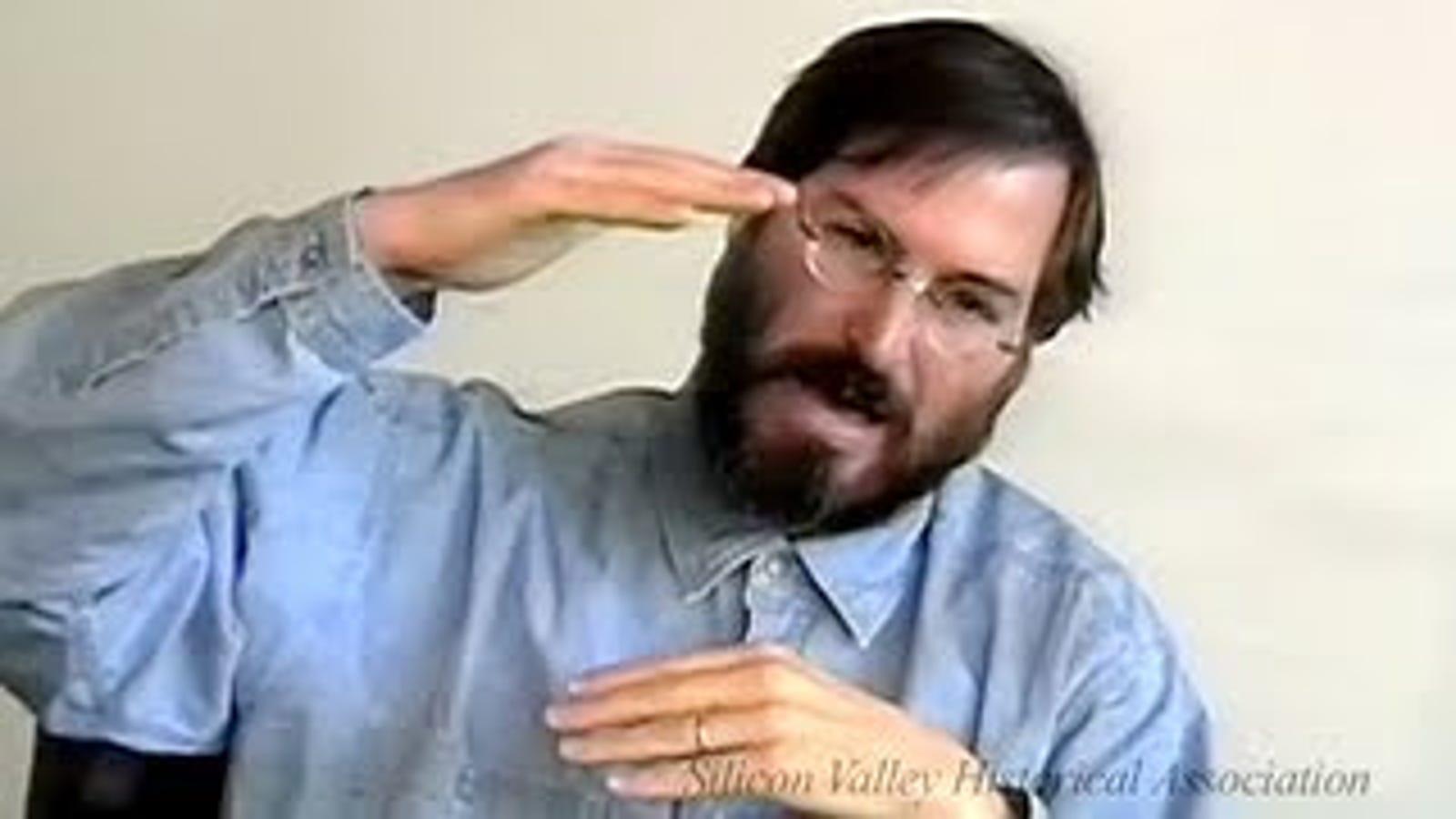 Steve Jobs habla de su legado en un vídeo nunca antes visto