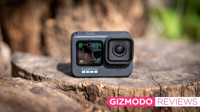 The GoPro Hero9 Is a Little Bigger and a Lot Better in Every Possible Way