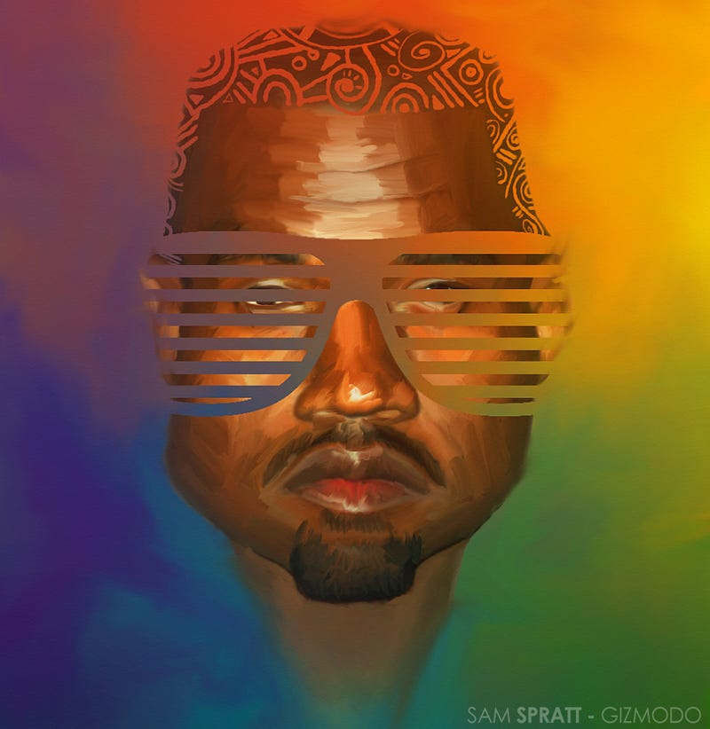 "Illustration for article titled Kanye's ""Apology"" Tweets: Edited into Letter Form"