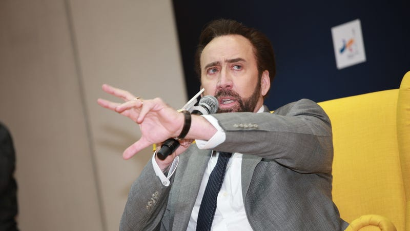 Why yes, we would like to watch Nic Cage fight evil aliens with Brazilian Jiu Jitsu