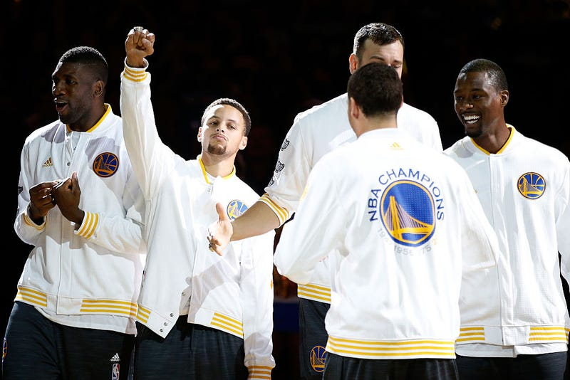 This Warriors Player Was The Drunkest At Team's NBA Finals After-Party
