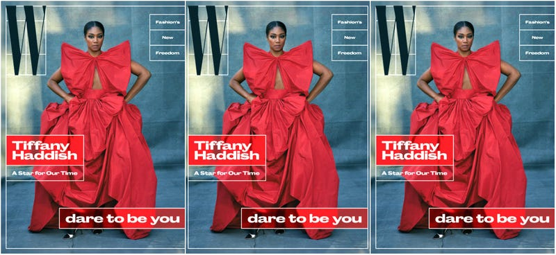 Illustration for article titled She Ready! Tiffany Haddish Covers W Magazine