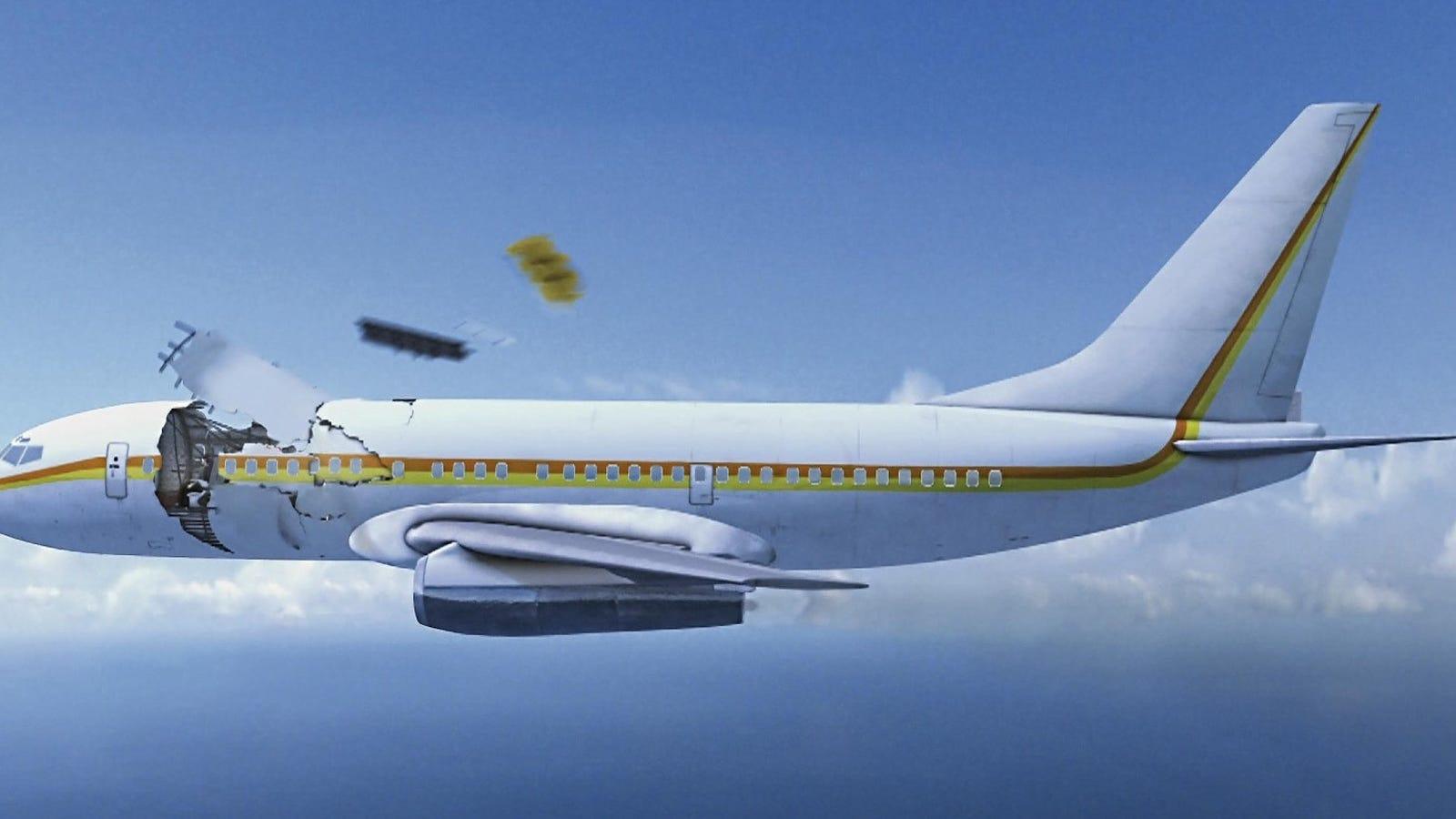 La increíble historia del vuelo Aloha 243, el avión comercial que aterrizó sin techo