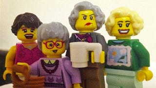 Illustration for article titled These Golden Girl Minifigs Are Perfect
