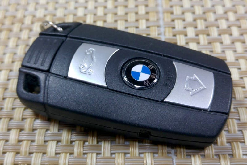Illustration for article titled BMW key fob crisis averted!