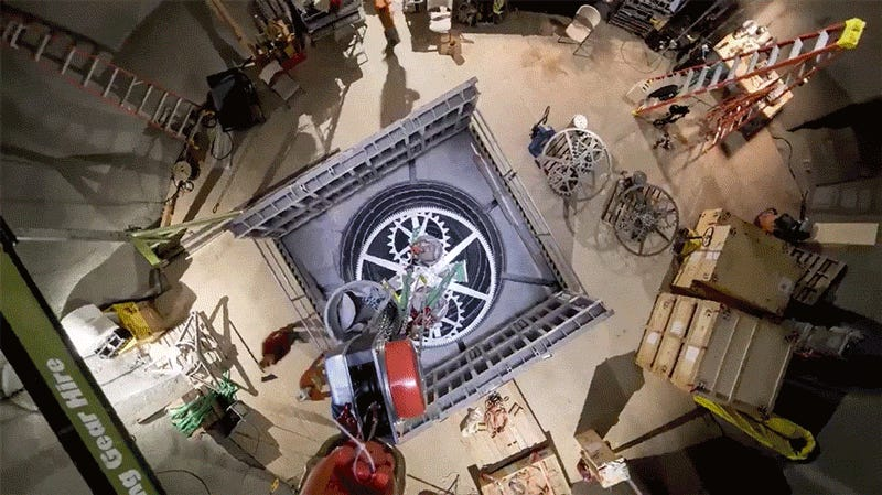 Image result for Jeff Bezos' $42 million 10,000-year clock