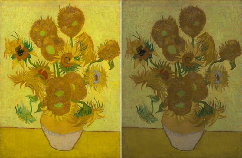 Scientists Think They've Figured Out Why Van Gogh's Sunflowers Are Fading