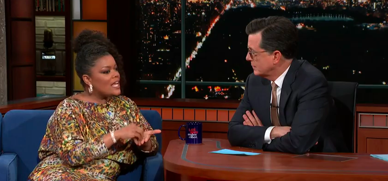 Yvette Nicole Brown, Stephen Colbert