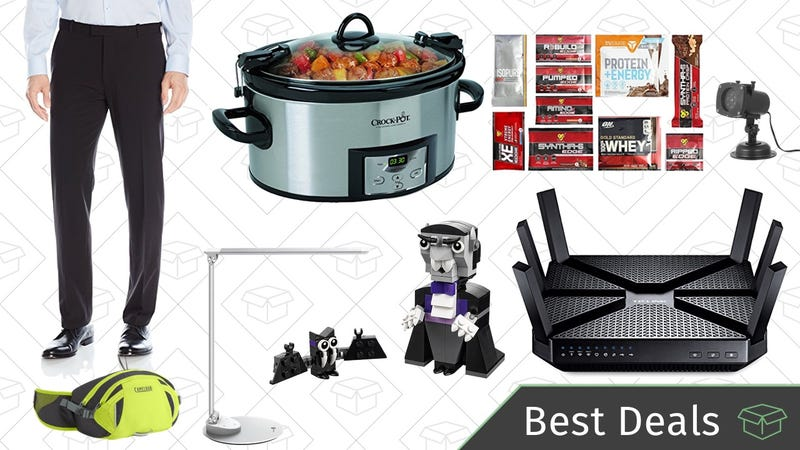 Illustration for article titled Saturday's Best Deals: Men's Pants, Portable Crock-Pot, Wi-Fi Router, and More