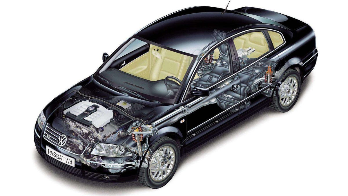 Have You Ever Owned A W8 Passat The Most Infamously Unreliable Vw Engine Diagram 2004 Exploded