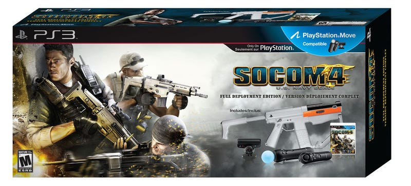 Illustration for article titled SOCOM 4 Strategically Releases $150 Full Deployment Edition