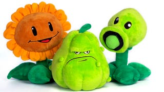 Illustration for article titled Plants vs Zombies Toys Want to Eat Your Money, Not Your Brains