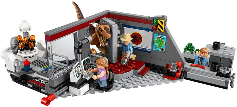 Illustration for article titled Lego Has Finally Given Me the Jurassic Park Lego Set I Wanted 25 Years Ago
