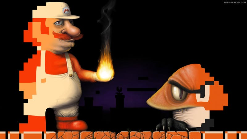 Illustration for article titled Now This Would've Made For A Great Mario Movie
