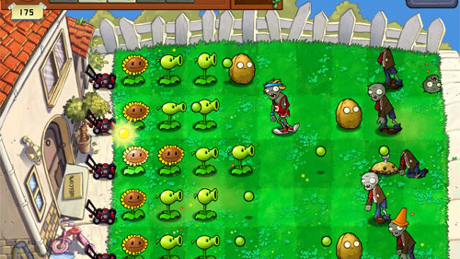 Plants Vs Zombies HD