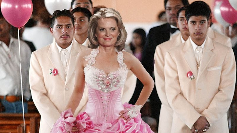 Illustration for article titled Romney Throws Quinceañera For Ann In Last-Minute Attempt To Get Hispanic Vote