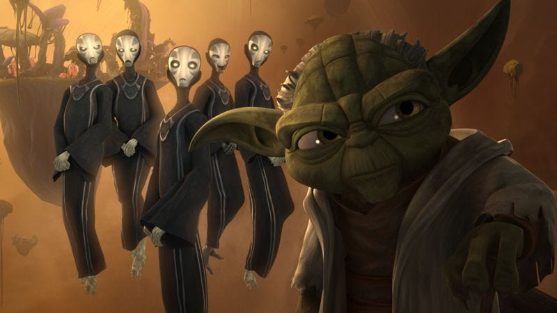 Illustration for article titled Star Wars: The Clone Wars makes a graceful exit