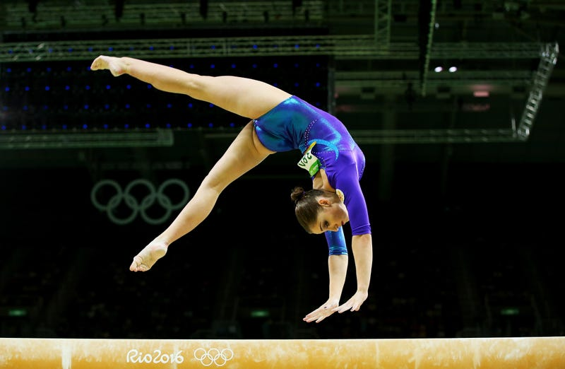 Illustration for article titled Olympic Champion Aliya Mustafina Returns To Competition 10 Months After Giving Birth