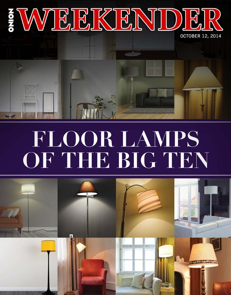 Illustration for article titled Floor Lamps Of The Big Ten