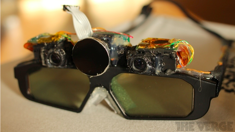 Illustration for article titled Ex-Valve Engineers' Crazy AR Glasses Put Tiny Projectors On Your Face