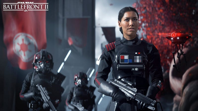 Illustration for article titled Star Wars Battlefront II Is Written By Spec Ops: The Line's Writer And An Ex-IGN Reporter