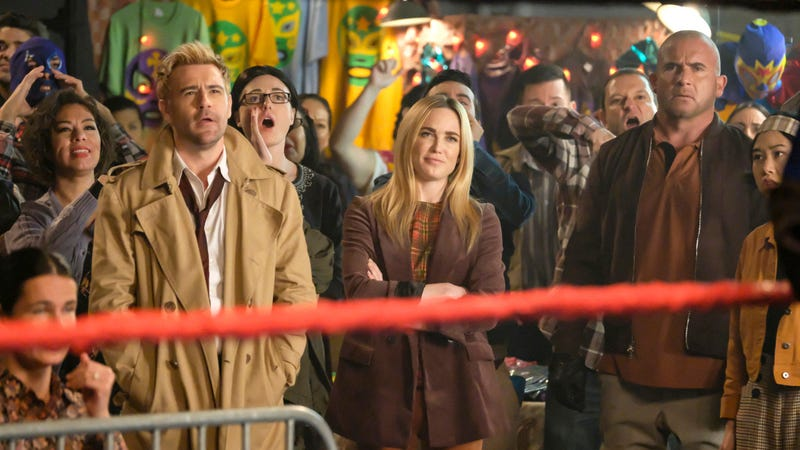 Mona piledrives the status quo in Legends Of Tomorrow's