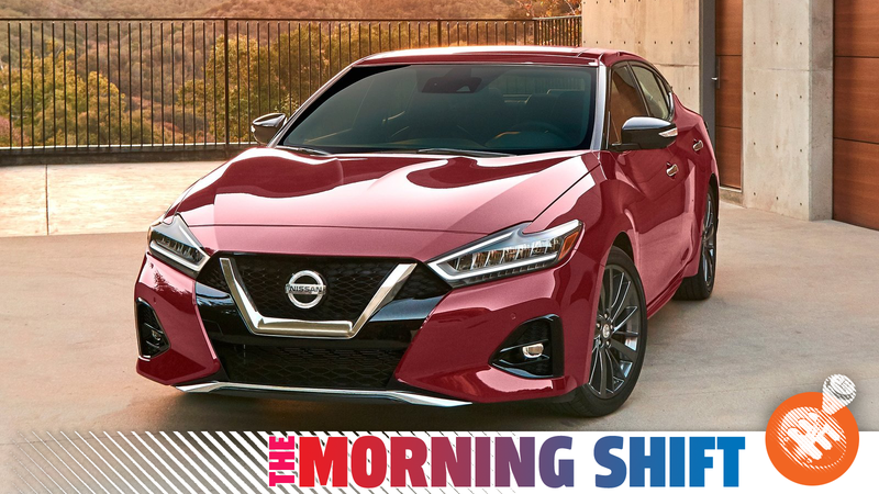 That's a, uh, that's, a Nissan... Maxima? Yeah. Maxima. Photo: Nissan