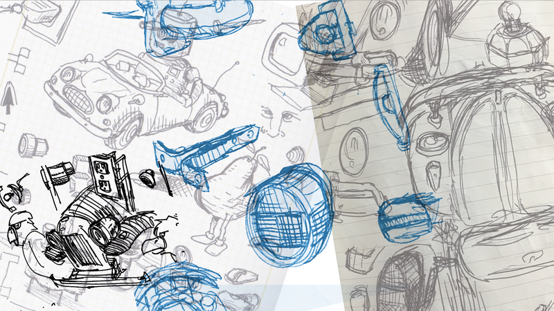 Illustration for article titled Show Us What Car Stuff You Doodle All The Time