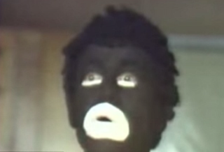 Bobby Berger, shown here in blackface, wanted to perform his routine during a fundraiser to benefit the families of the six Baltimore police officers charged in the death of Freddie Gray.WJZ-13 Screenshot