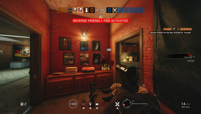 Rainbow Six Siege Change Will Punish Griefers By Making Bullets Hurt The People Firing Them
