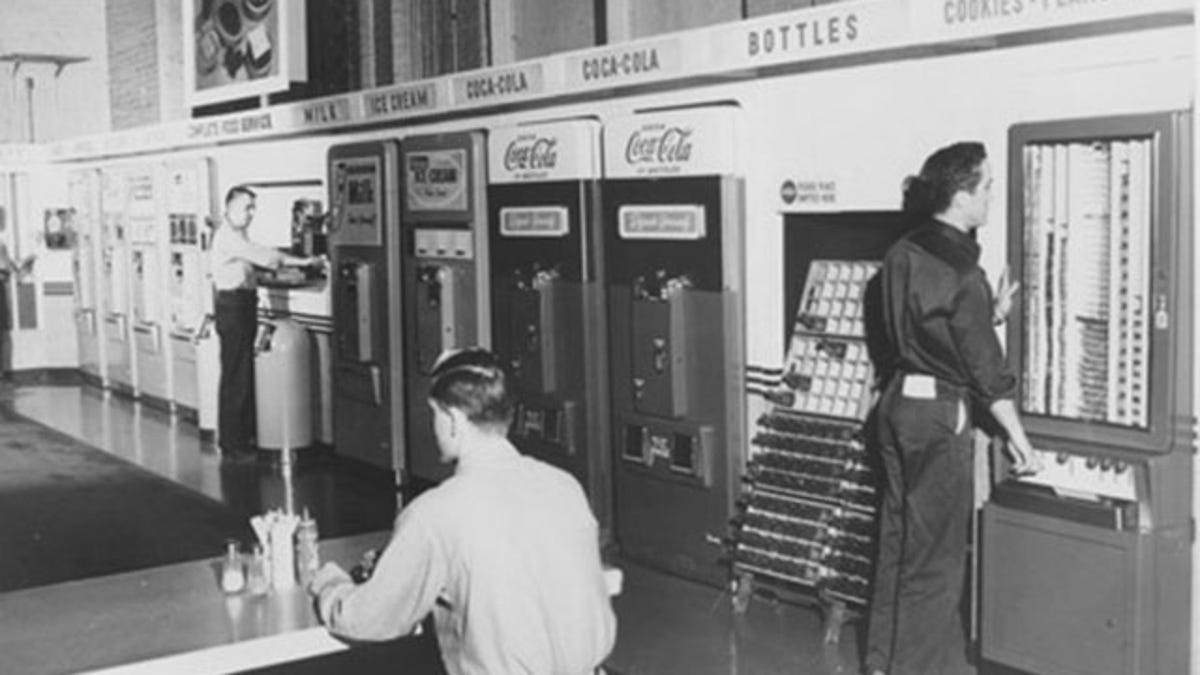 9 vintage vending machines from a time when they d sell anything