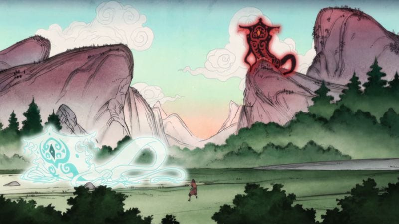"Illustration for article titled The Legend Of Korra: ""Beginnings, Parts 1 + 2"""