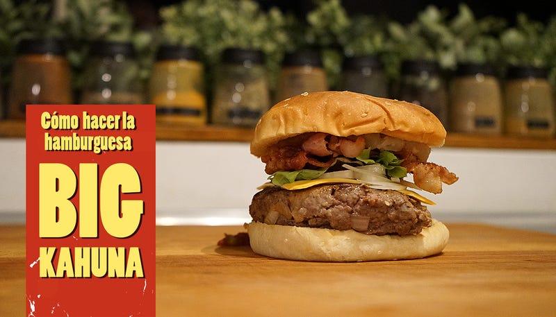 Illustration for article titled Cómo preparar la Big Kahuna, la hamburguesa original dePulp Fiction