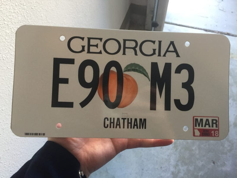 Illustration for article titled Got the new plates for the M3 today